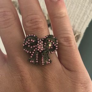Betsey Johnson Bow Ring